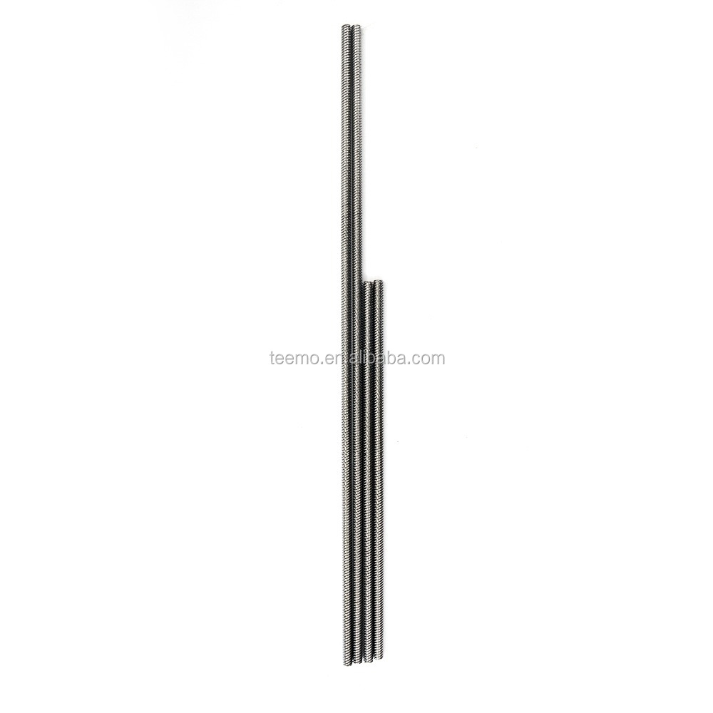 Tr8x8x600 starts 4 Stainless Steel Power Trapezoidal Metric Acme Threaded Rod