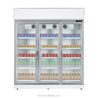 High quality!!upright glass door beverage coolers can customize