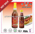 Yummy Quality hot chili sauce & sweet sour sauce