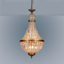 Hot selling indoor decorative crystal chandelier Retro pendant lamp