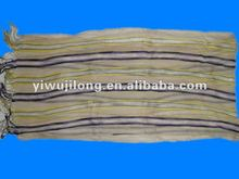 2012 NEW Style HOT wrinkle Scarf Shawl,striped pattern pashmina scarf