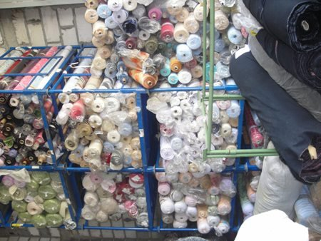 stock of fabric