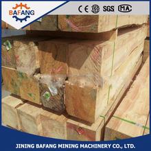 Hot Sale Anti-corrosion treated railway wooden sleeper