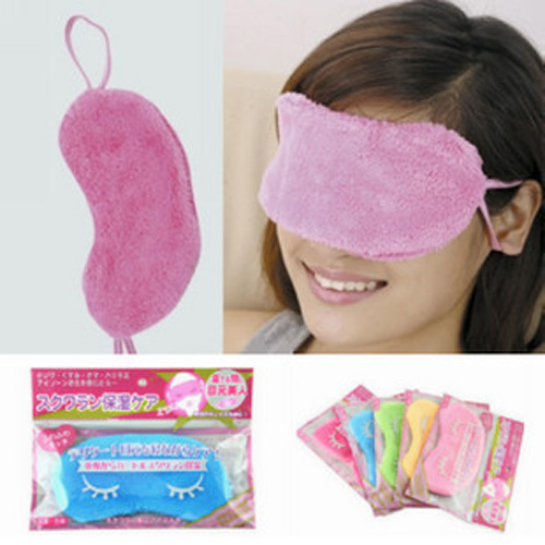 1pc Cute Cotton EyeShade Sleeping Eye Mask Travel Rest Cover Eyepatch Blindfolds for Health Care to Shield the Light