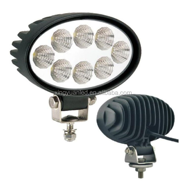 24W IP67 6000K Waterproof spot or flood beam LED Work Light