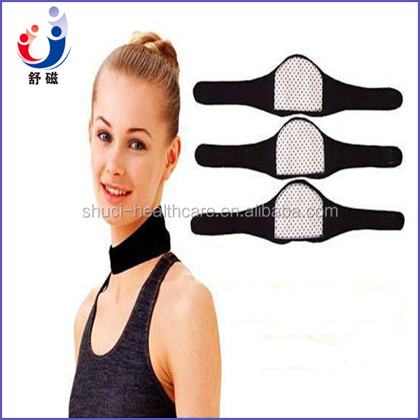 heated Neck Brace /Self Heating Neck Support /Tourmaline neck pad