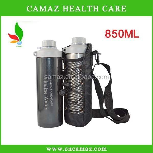 2015 new style 850ML Alkaline Tourmaline Nano Negative ions Nano water bottle