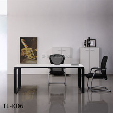 Modern office Workstation Office Desk commercial office desk with side table