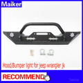 front bumper for Jeep Wrangler JK 2007+ LED bumper for jeep 4*4 accessories