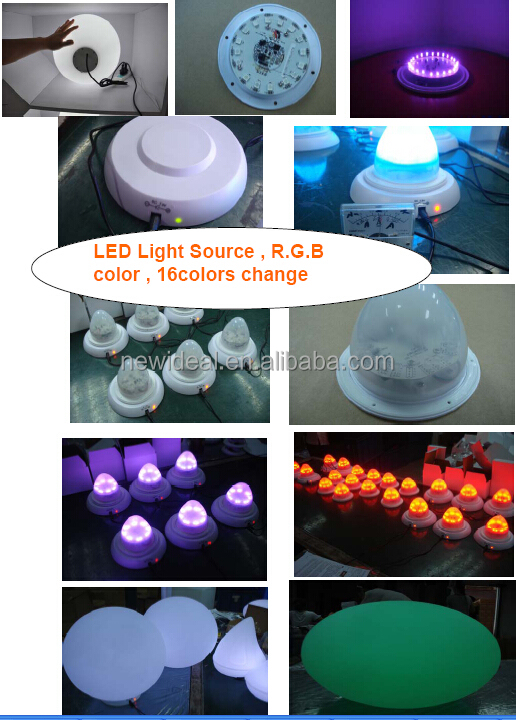 rotomolding LED planter,flower pot for home ,garden , hotel , bar decoration