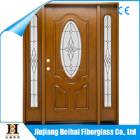 2014 different types of doors of new design wooden door fiberglass SMC door