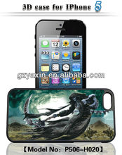 3d phone case for iphone 4/5/5s/5c,factory price 3d phone case for i phone 5