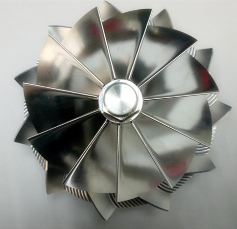 GTB4718 451948-0019 88.00/117.55m 11+0 blades high <strong>performance</strong> turbo billet/milling/aluminum 2618 compressor wheel
