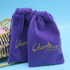 Soft Cell Phone Packaging Pouch With Drawstring