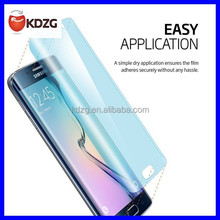 2015 new products anti-fingerprint tempered glass screen protector for samsung galaxy s6 edge