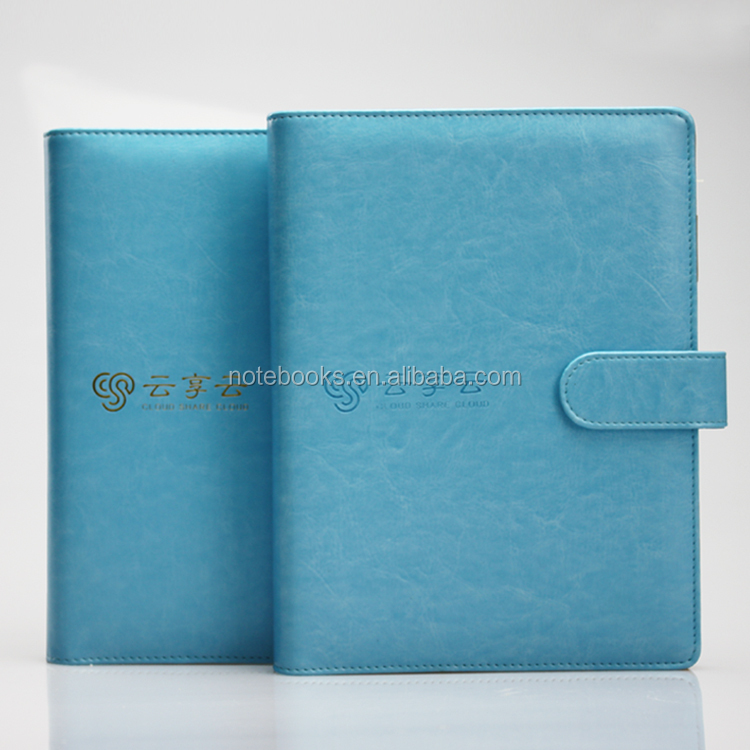 premium corporate gift ring binder planner magnetic notepad