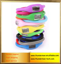 Digital Silicone Bracelet pedometer with Step counter function