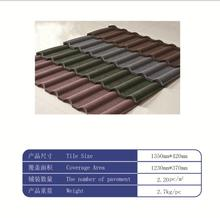 Ceramic roof tiles /SONCAP colorful stone coated metal roofing shingles Roof