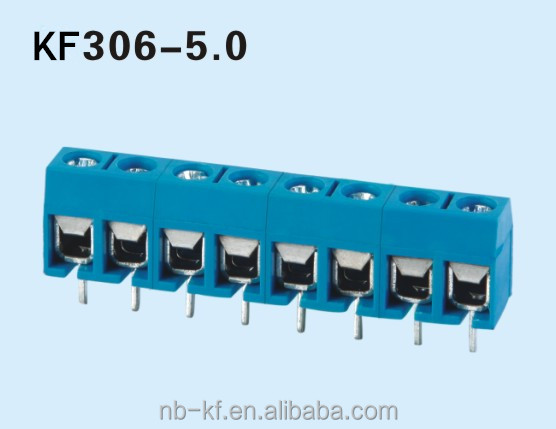 16A pcb screw terminal block 5.0mm connector