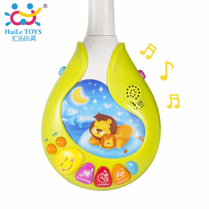 Huile 818 Brainwave Stimulator Baby Mobiles Hot Selling Help To Sleep Musical Baby Mobile Toys
