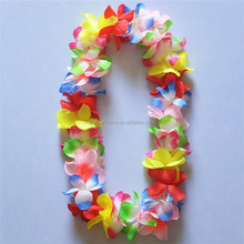 Faithful supplier of hawaii flower necklace lei WTH-9015