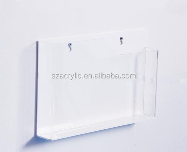Acrylic Box To Hang On Wall : Hang on the wall a acrylic brochure display stand holder