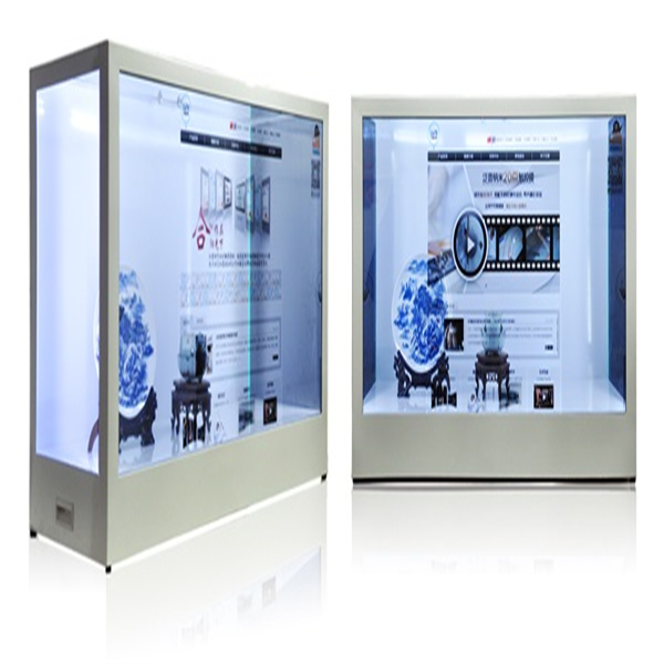46 inch Transparent LCD/ OLED Display for product showcase/ advertising