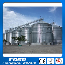 Corn storage silo manufacturers with large sized and group of silos