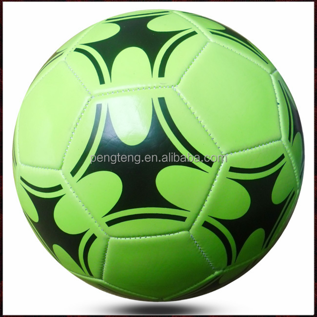 glow in the dark size 5 pvc soccer ball