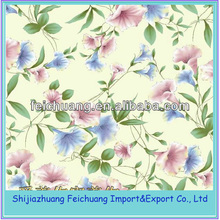 Printed twill 100% cotton fabric for bed sheets