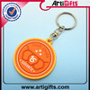 Cheap metal new promotional products novelty items soft pvc key chains