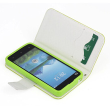 Flip leather Phone case for xiaomi mi2s,pu leather case for xiaomi mi2s