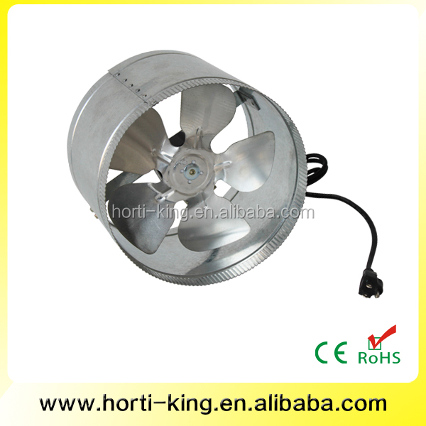 Hydroponics Greenhouse Systerm Axial Flow Fans 6 Inch 150MM Duct Fan