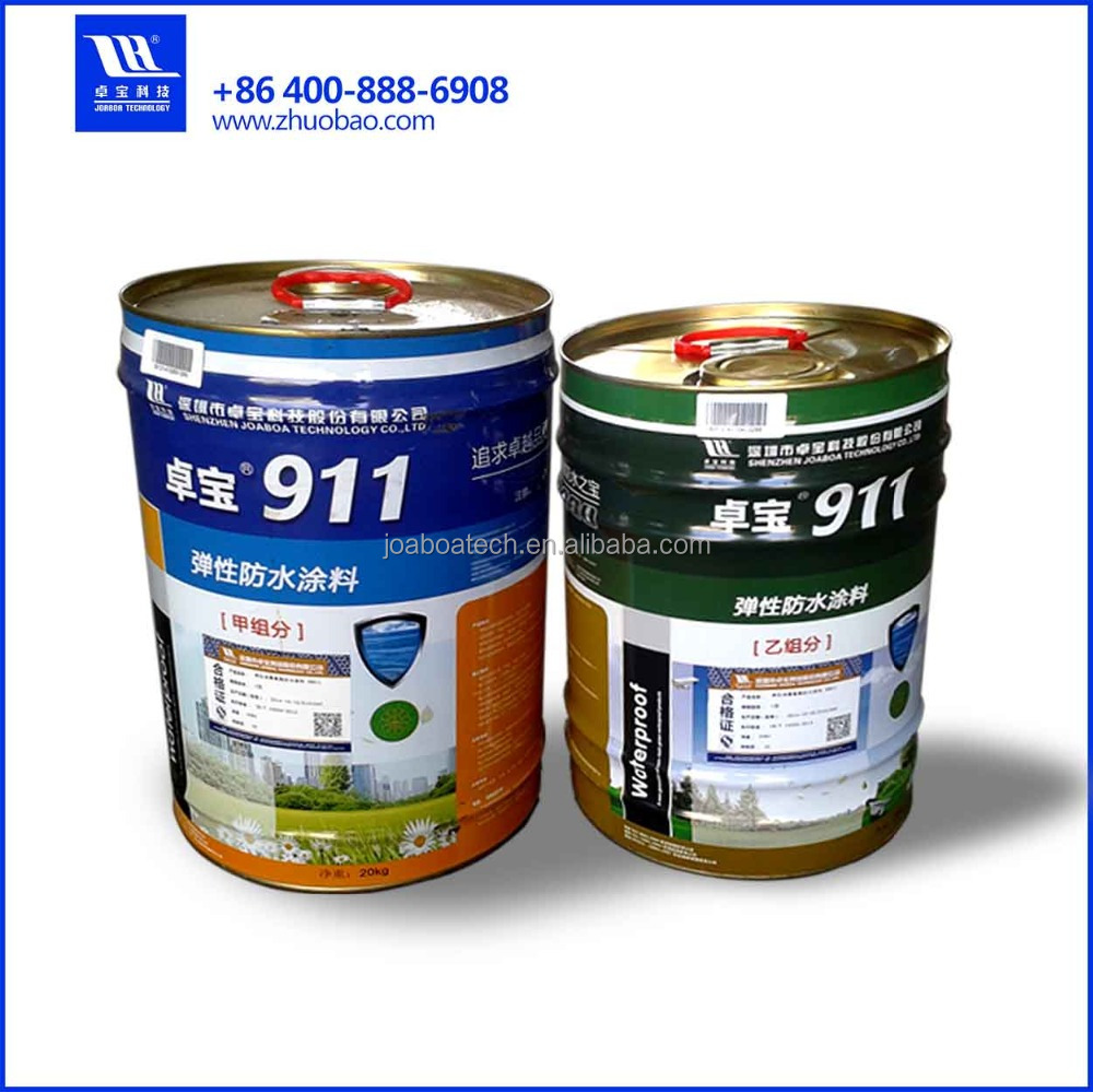 High Elastomeric Two Componet Polyurethane Liquid Membrane Waterproofing/Waterproof Coating