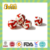Hot selling beef & cheese flavor Woven Ball shaped dog dental chews