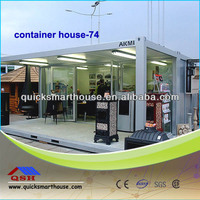 china convenient modern container house