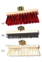 FSC 30CM floor brush wooden handle/broom
