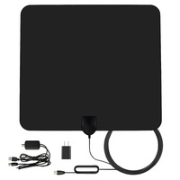 Factory price The Best Indoor 100 Mile Range VHF Antenna Ultra Thin HDTV Antenna - VHF Antnna Black/White