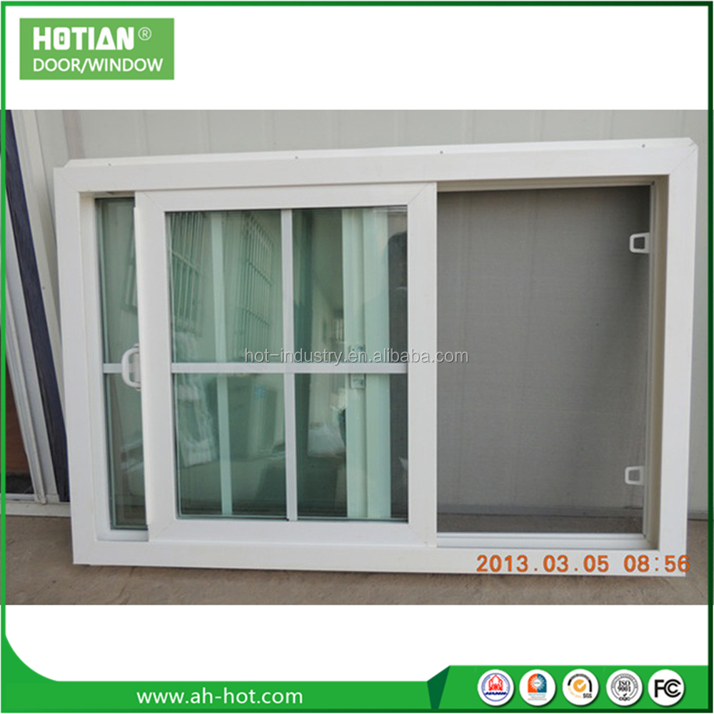Cheap house windows for sale pvc basement window with grill and colour glass design