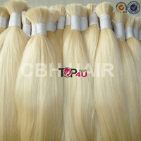 100% remy cuticle double drawn blonde raw virgin 8a russian hair extensions