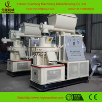 Automatic lubrication wood sawdust pellet making machine for sale
