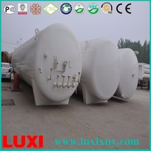 Alibaba China Supplier container semi trailer underground fuel storage oil or gas tank