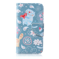 hot selling cute leather wallet case for Samsung J2 accept oem color printing