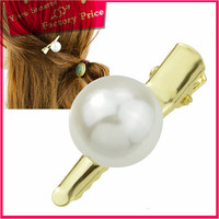 indian gold jewellery pearl pearl jewelry 2016 promotion wholesale fashion wedding stone hair clips/hair claws