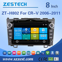 for honda crv 2007 2008 2009 2010 2011 car dvd gps navigation system with bluetooth/radio/phonebook