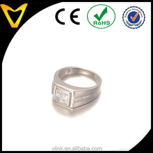 925 sterling silver design men ring,custom design transparent CZ pring set man engagement ring diamond men ring