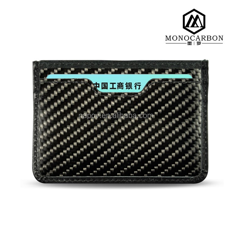 Monocarbon Professional Super Thin New Carbon Fiber Card Money Holder Wallets