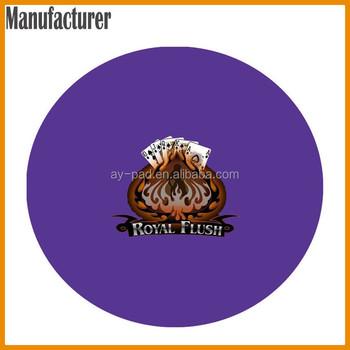 Purple poker felt