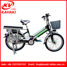New Arrived Fast Food Delivery Motor Cycle Cargo Bicycle Heavy Loading Cargo Carrier