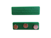 Good quality colorful plastic name badge magnet